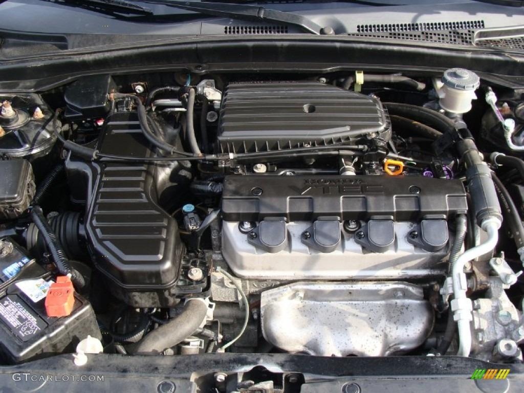 2005 Honda Civic Ex Sedan 1 7l Sohc 16v Vtec 4 Cylinder
