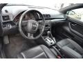 Ebony 2007 Audi A4 Interiors