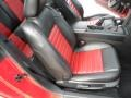 2007 Torch Red Ford Mustang Shelby GT500 Coupe  photo #24