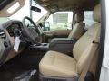 2012 White Platinum Metallic Tri-Coat Ford F250 Super Duty Lariat Crew Cab 4x4  photo #13