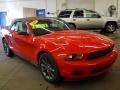 2011 Race Red Ford Mustang V6 Premium Convertible  photo #21