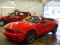 2011 Race Red Ford Mustang V6 Premium Convertible  photo #23