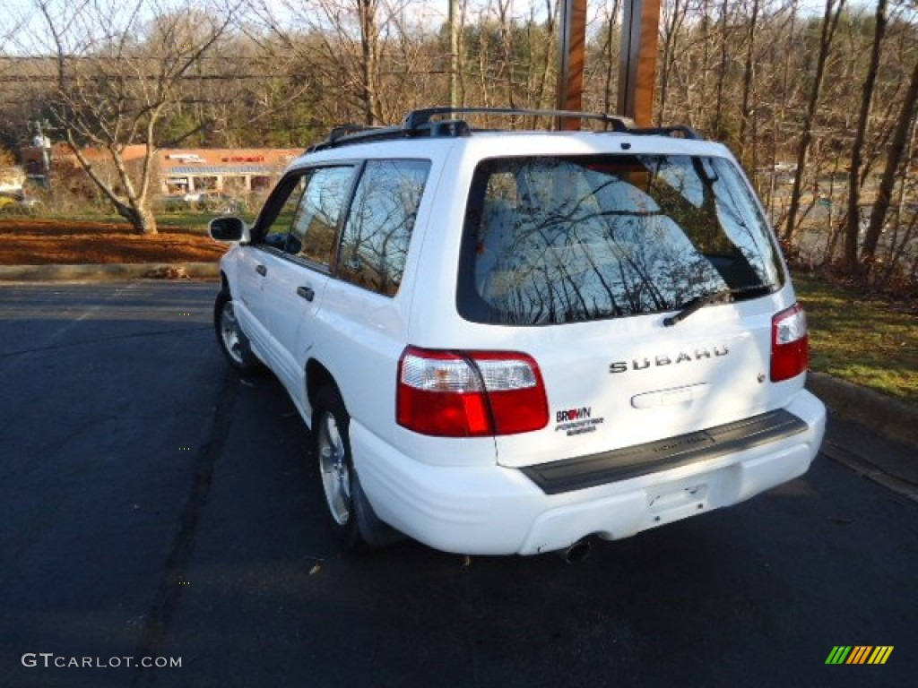 2001 aspen white subaru forester 2 5 s 59689501 photo 5 gtcarlot com car color galleries gtcarlot com