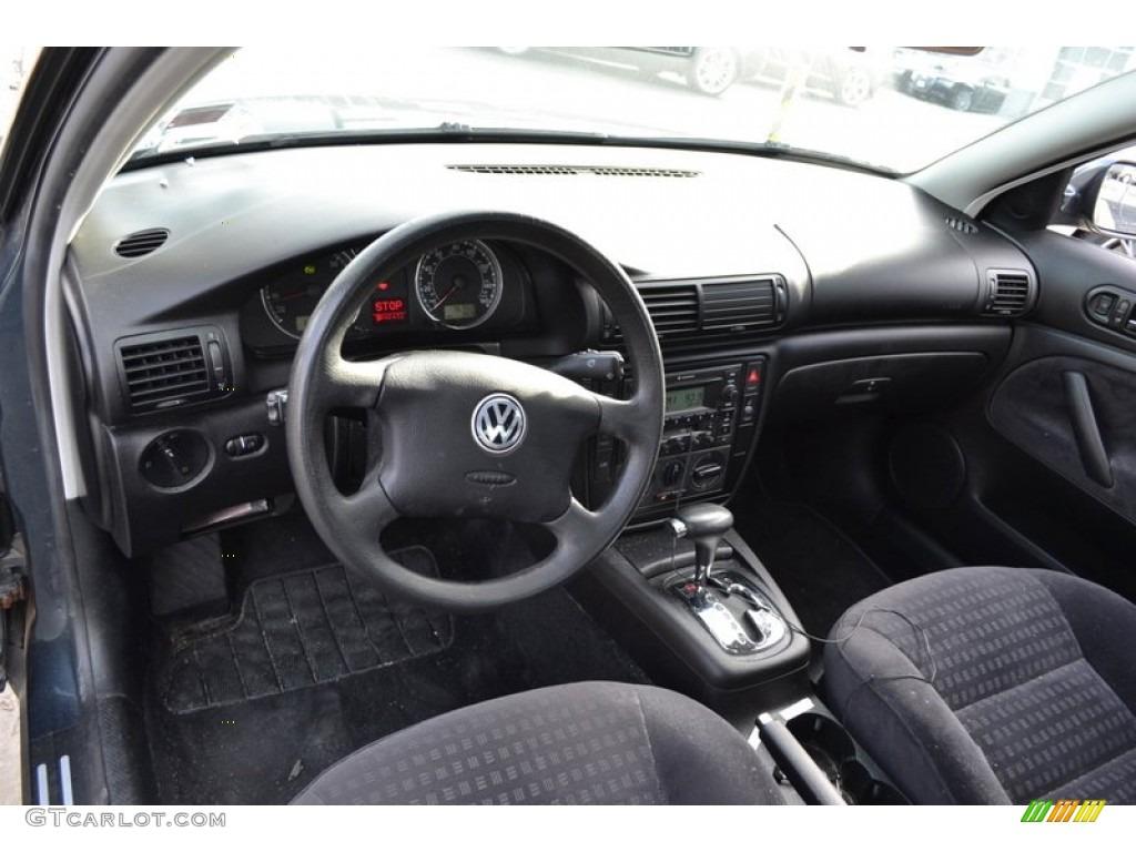 black interior 2002 volkswagen passat gls sedan photo 59721375