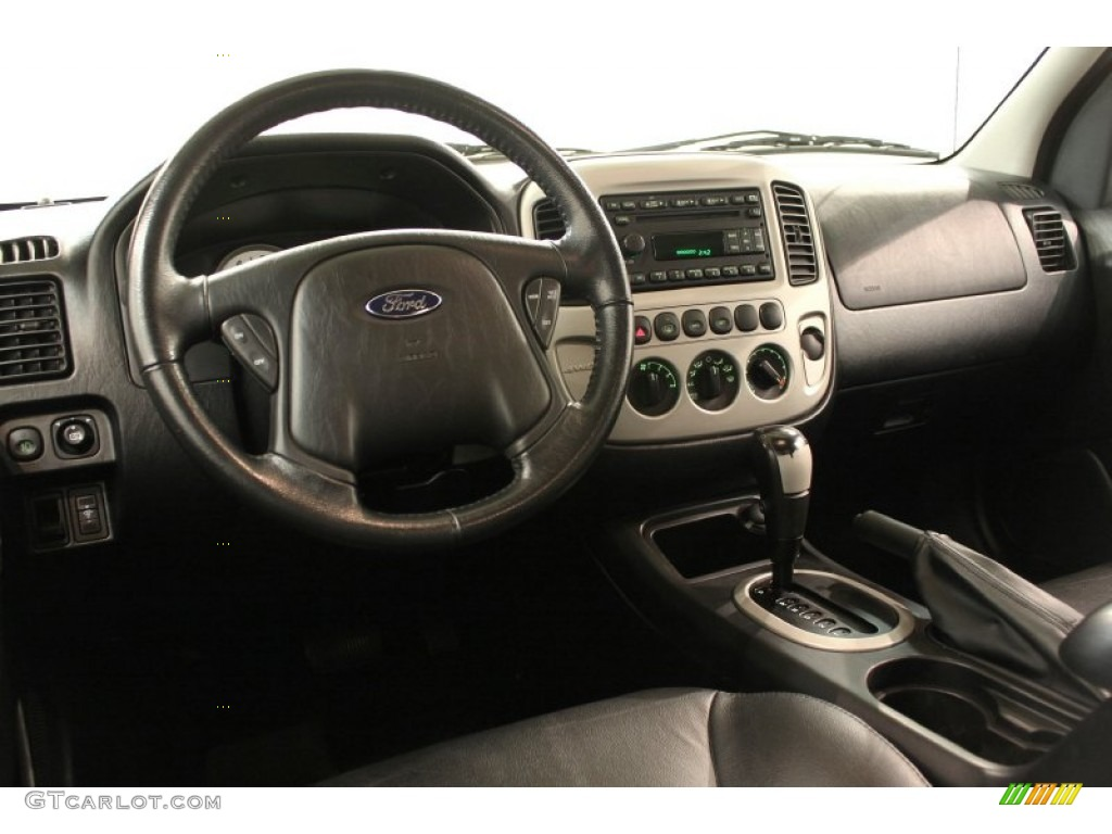 2006 Ford Escape Limited 4wd Ebony Black Dashboard Photo 59726493 Gtcarlot Com