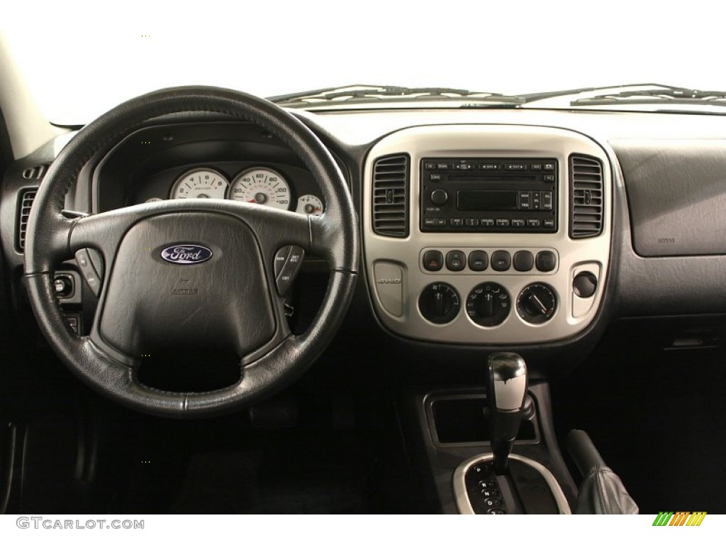 2006 Ford Escape Limited 4WD Dashboard Photos | GTCarLot.com