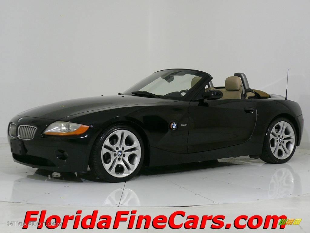 2003 Jet Black Bmw Z4 3 0i Roadster 544069 Gtcarlot Com Car Color Galleries