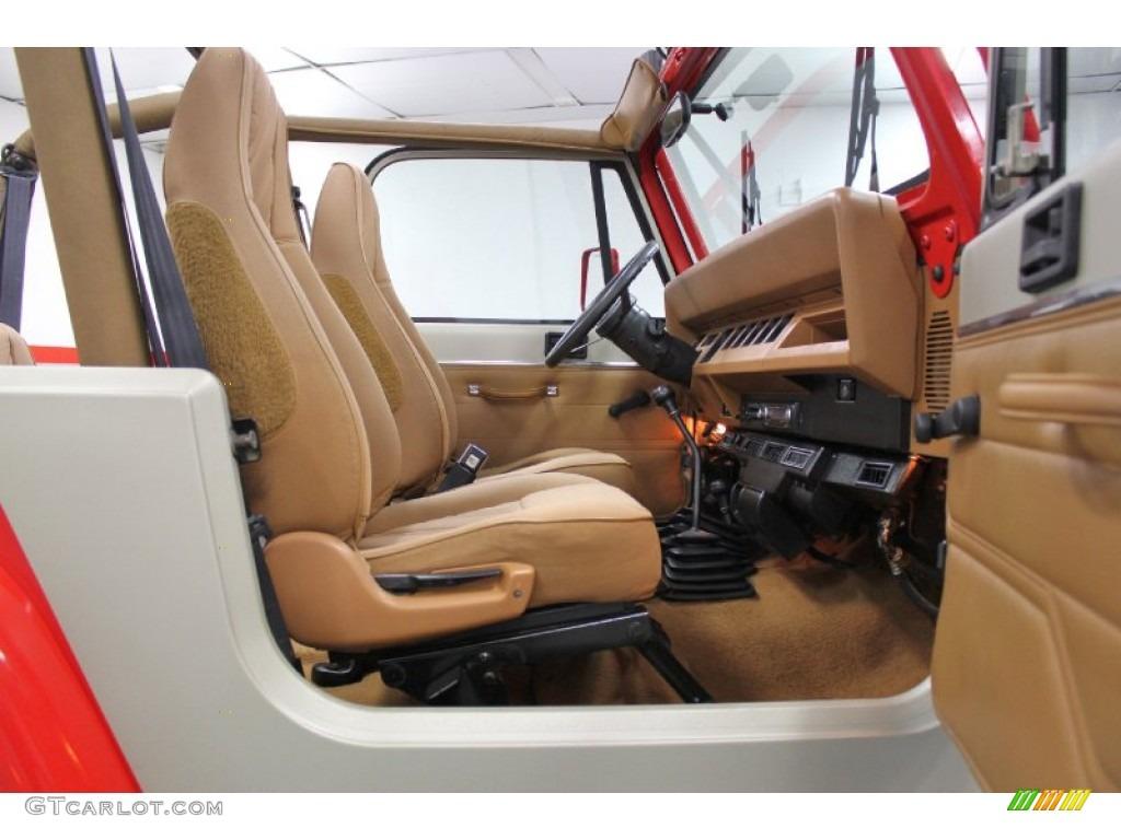 Jeep Wrangler Paint >> 1994 Jurassic Park Tan/Red Jeep Wrangler SE 4x4 #59689442 ...