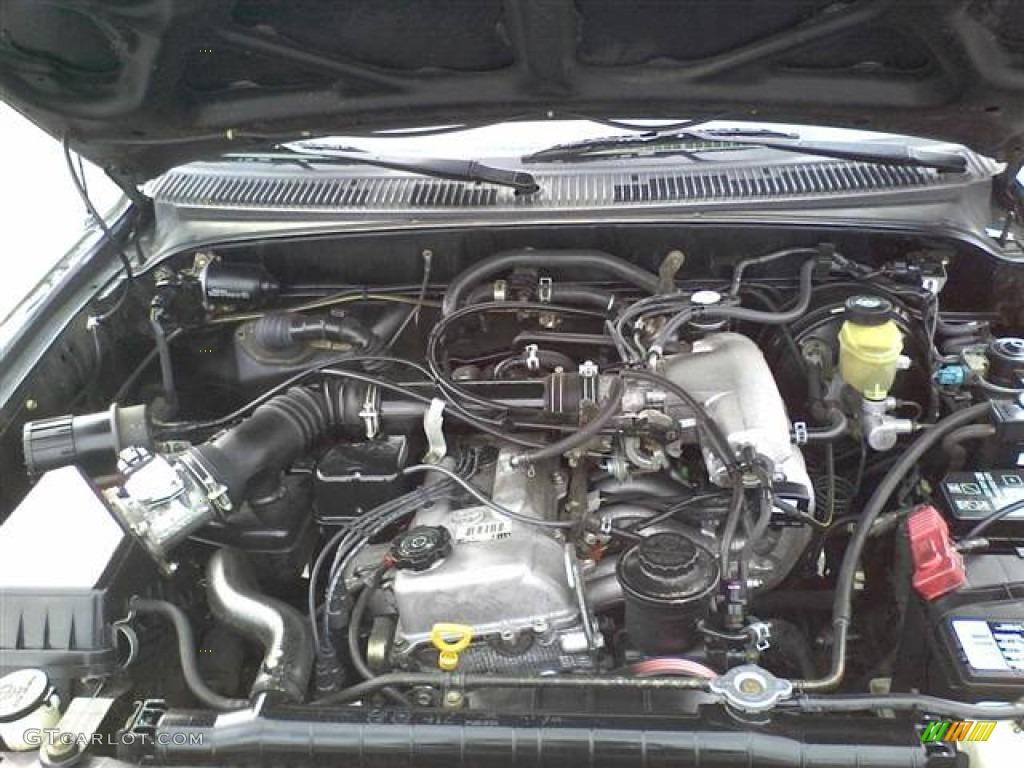 2000 Toyota Tacoma Prerunner Extended Cab 2 7 Liter Dohc