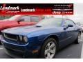 2009 Deep Water Blue Pearl Coat Dodge Challenger SE #59689154