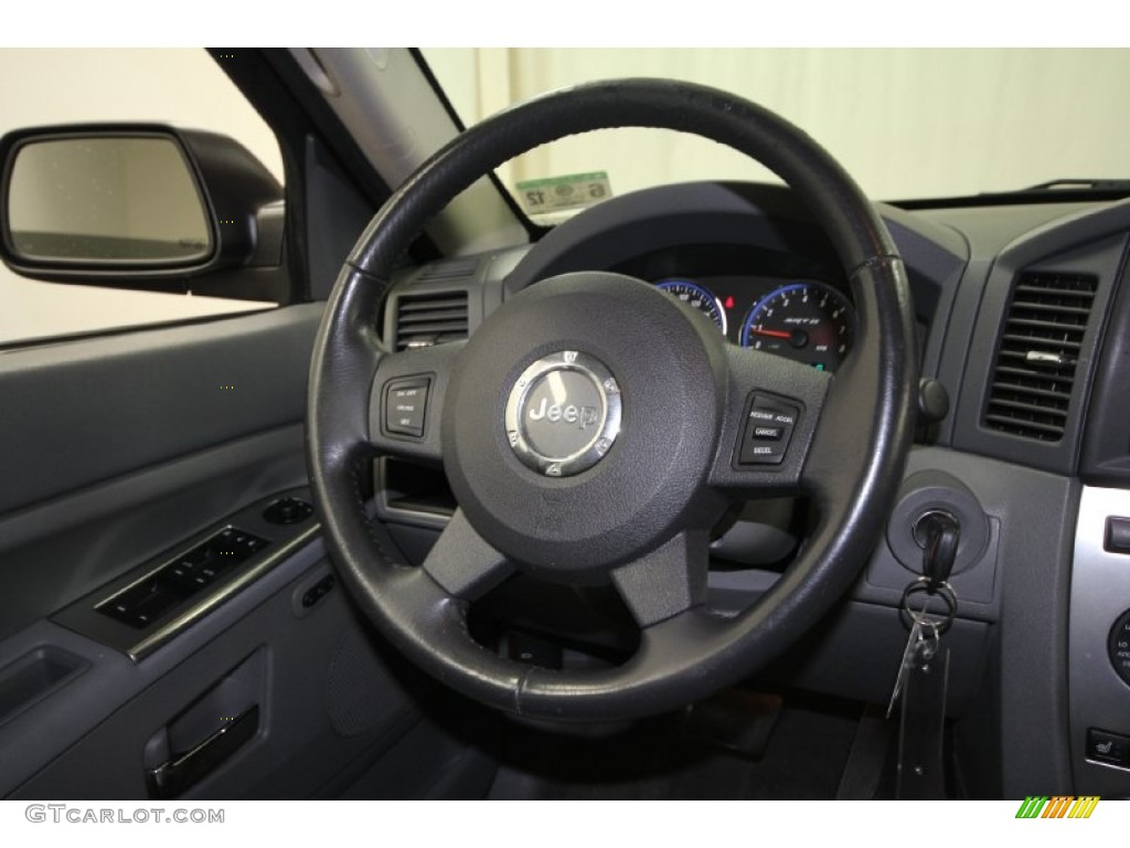 2007 jeep grand cherokee srt8 4x4 steering wheel photos. Black Bedroom Furniture Sets. Home Design Ideas