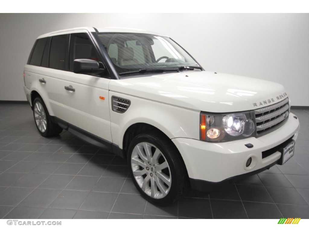 2007 chawton white land rover range rover sport supercharged 59689396 car. Black Bedroom Furniture Sets. Home Design Ideas
