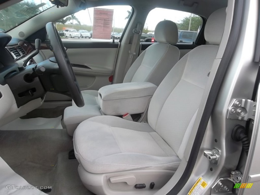 Gray Interior 2006 Chevrolet Impala Lt Photo 59740103