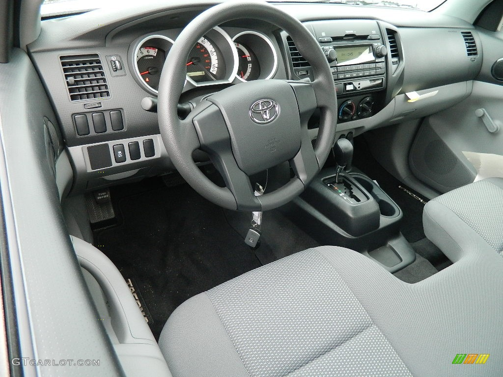 graphite interior 2012 toyota tacoma regular cab photo. Black Bedroom Furniture Sets. Home Design Ideas