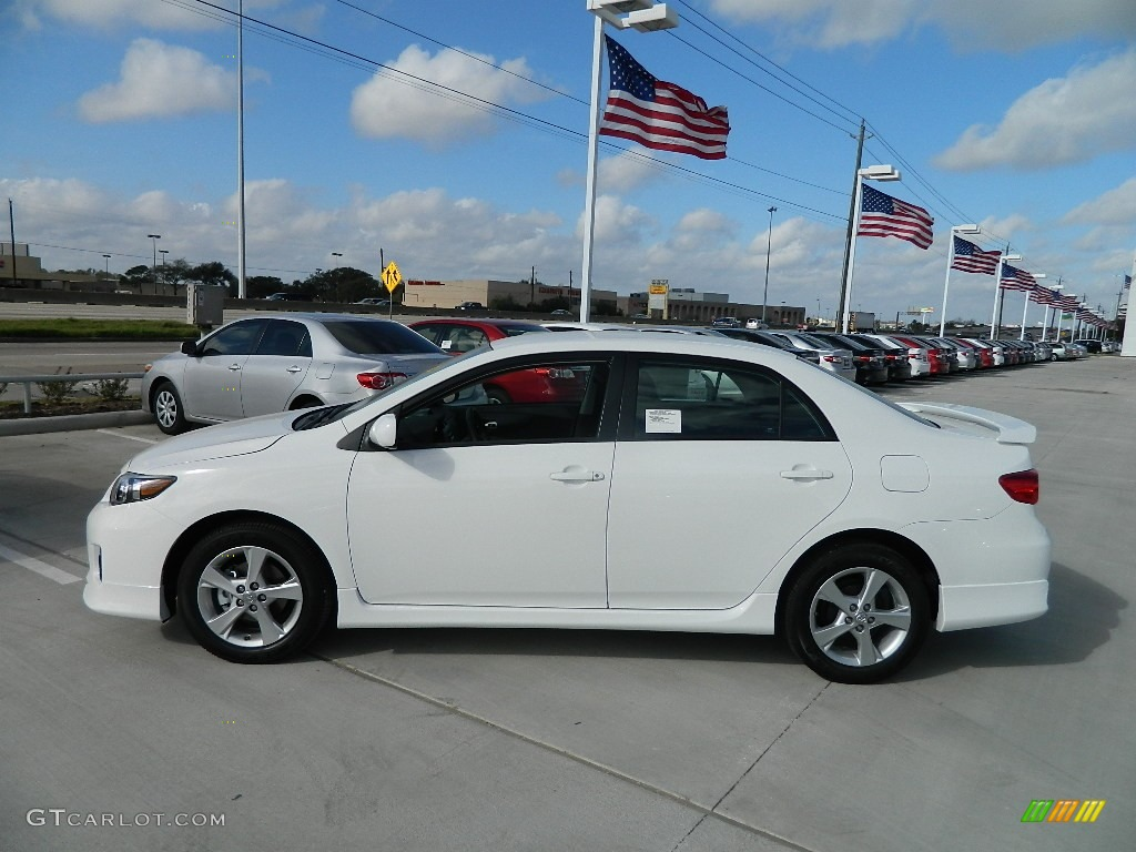 Super White 2012 Toyota Corolla S Exterior Photo 59746616