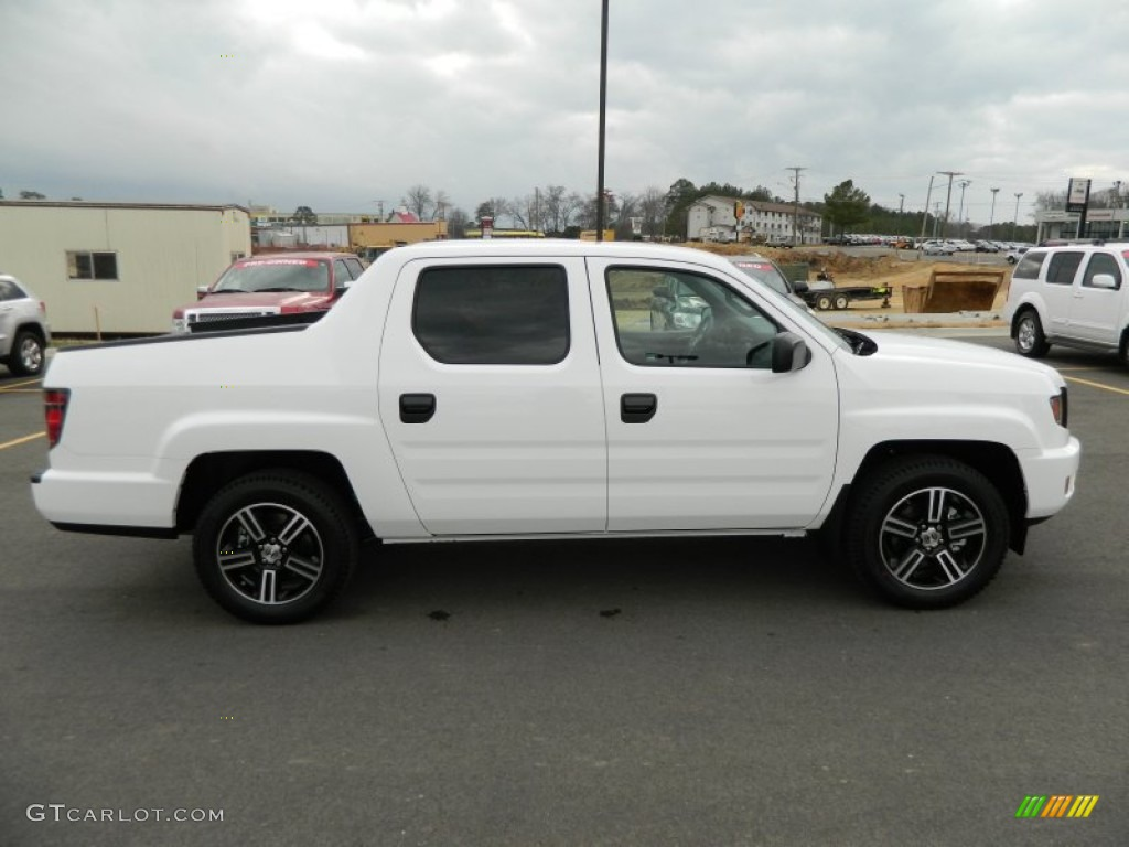 white 2012 honda ridgeline sport exterior photo 59752958