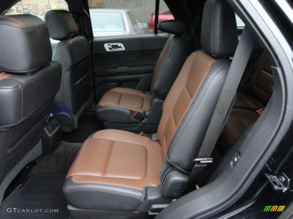 Pecan Charcoal Interior 2011 Ford Explorer Limited 4wd Photo 59759525