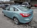 2012 Frosted Glass Metallic Ford Focus SEL Sedan  photo #2