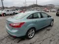 2012 Frosted Glass Metallic Ford Focus SEL Sedan  photo #4