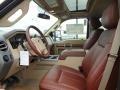2012 Tuxedo Black Metallic Ford F250 Super Duty King Ranch Crew Cab 4x4  photo #17