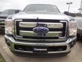 2012 Sterling Grey Metallic Ford F250 Super Duty Lariat Crew Cab 4x4  photo #2