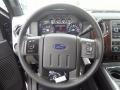 2012 Sterling Grey Metallic Ford F250 Super Duty Lariat Crew Cab 4x4  photo #22