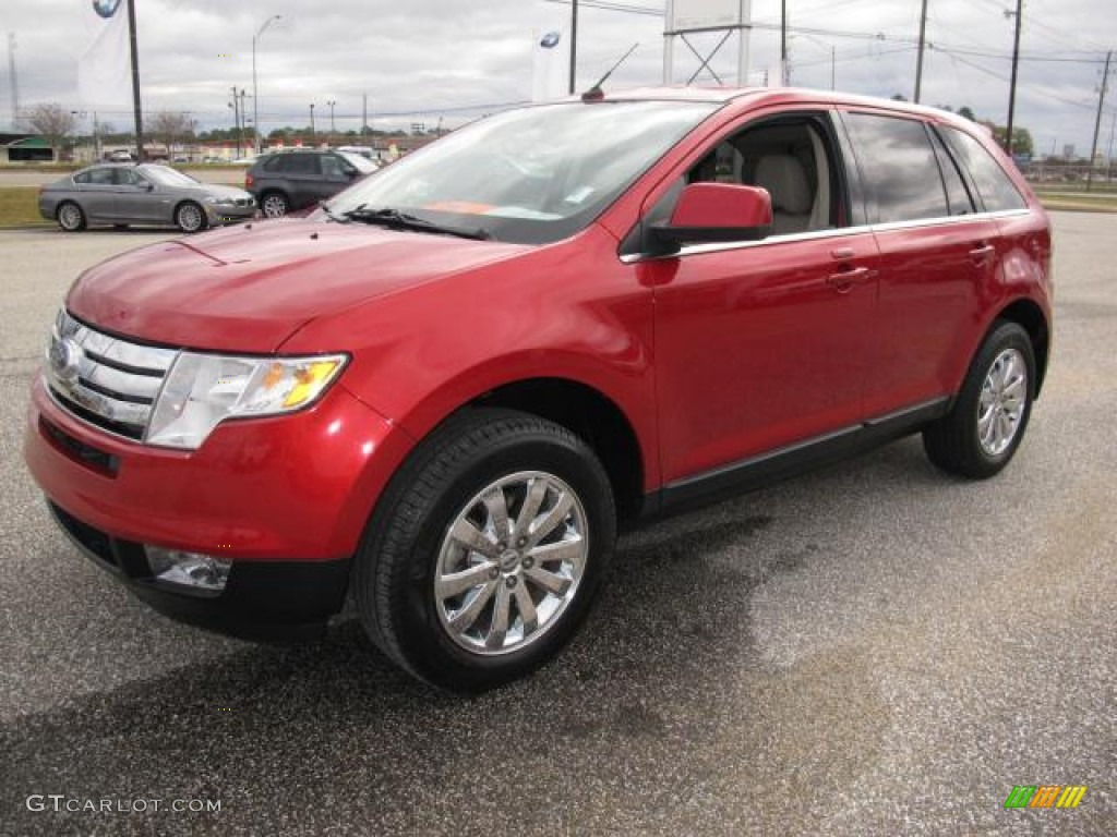 red candy metallic 2010 ford edge limited exterior photo. Black Bedroom Furniture Sets. Home Design Ideas