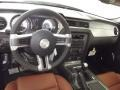 2012 Ford Mustang Saddle Interior Dashboard Photo