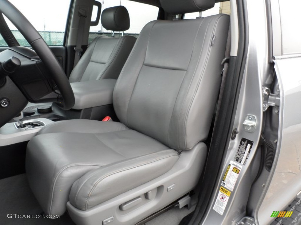 2008 Toyota Tundra Limited CrewMax Front Seat Photos