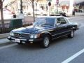 Front 3/4 View of 1981 SL Class 380 SLC Coupe