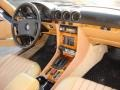 Dashboard of 1981 SL Class 380 SLC Coupe