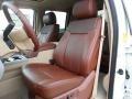 2012 White Platinum Metallic Tri-Coat Ford F250 Super Duty King Ranch Crew Cab 4x4  photo #28