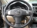 Sand Beige Steering Wheel Photo for 2011 Toyota RAV4 #59774252