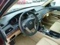 Ivory 2012 Honda Accord Interiors