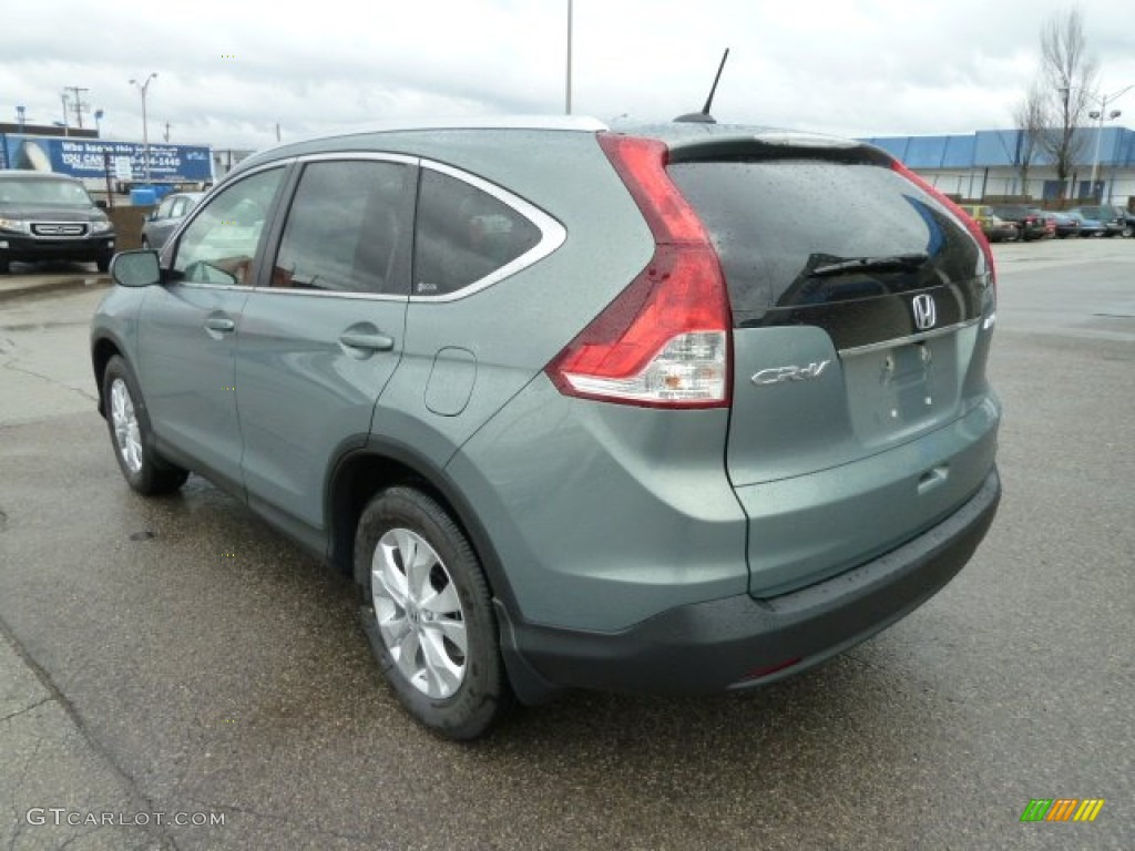 opal sage metallic 2012 honda cr v ex l 4wd exterior photo. Black Bedroom Furniture Sets. Home Design Ideas
