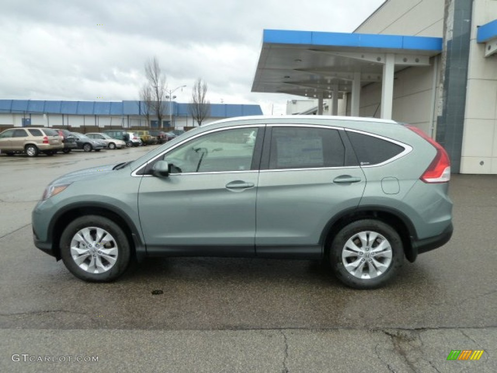 Opal Sage Metallic 2012 Honda CR-V EX-L 4WD Exterior Photo #59775572