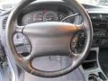 1998 Ford Explorer Medium Dark Denim Blue Interior Steering Wheel Photo