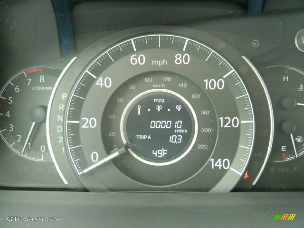 2012 Honda CR-V EX-L 4WD Gauges Photo #59775710