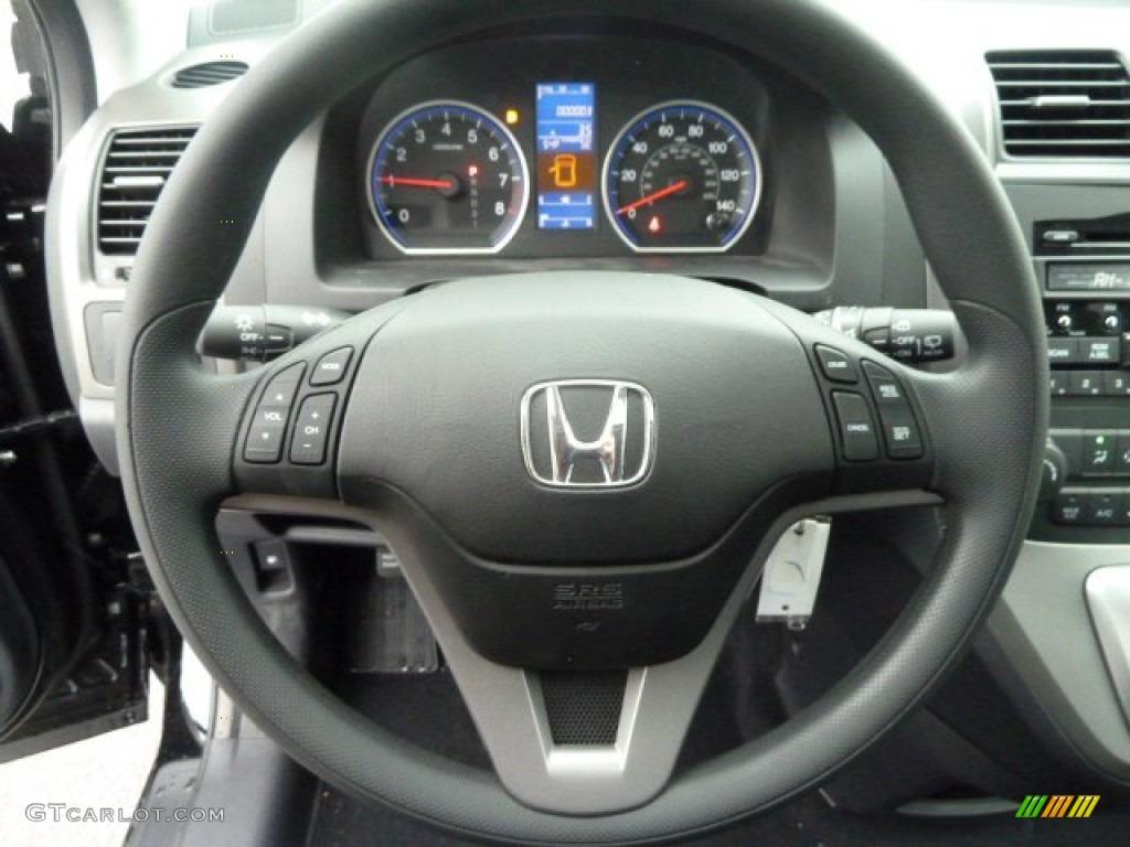2011 Honda Cr V Ex 4wd Black Steering Wheel Photo 59775836 Gtcarlot Com