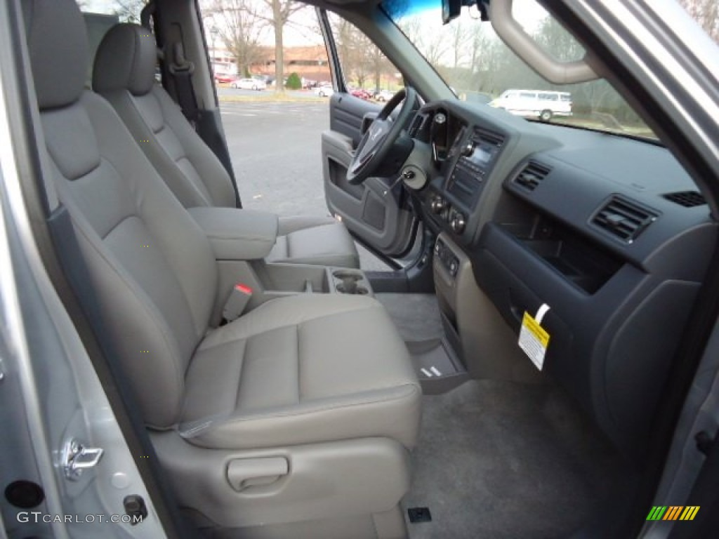 Gray Interior 2012 Honda Ridgeline RTL Photo #59779529   GTCarLot.com