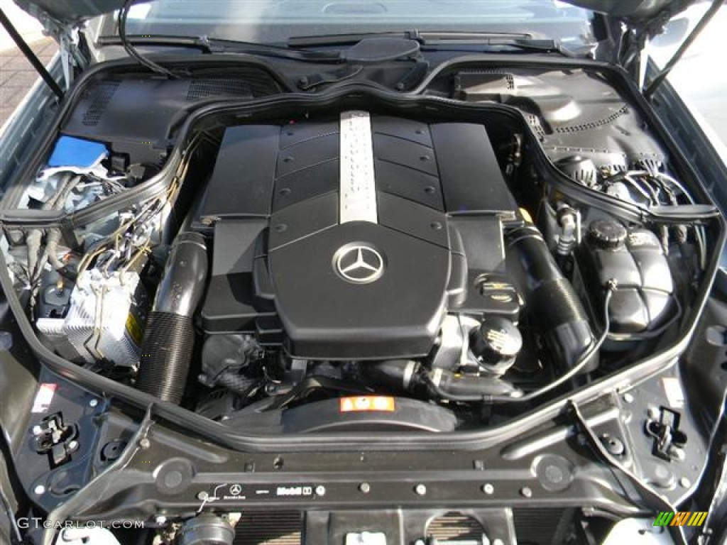 2006 mercedes benz cls 500 5 0 liter sohc 24 valve v8. Black Bedroom Furniture Sets. Home Design Ideas