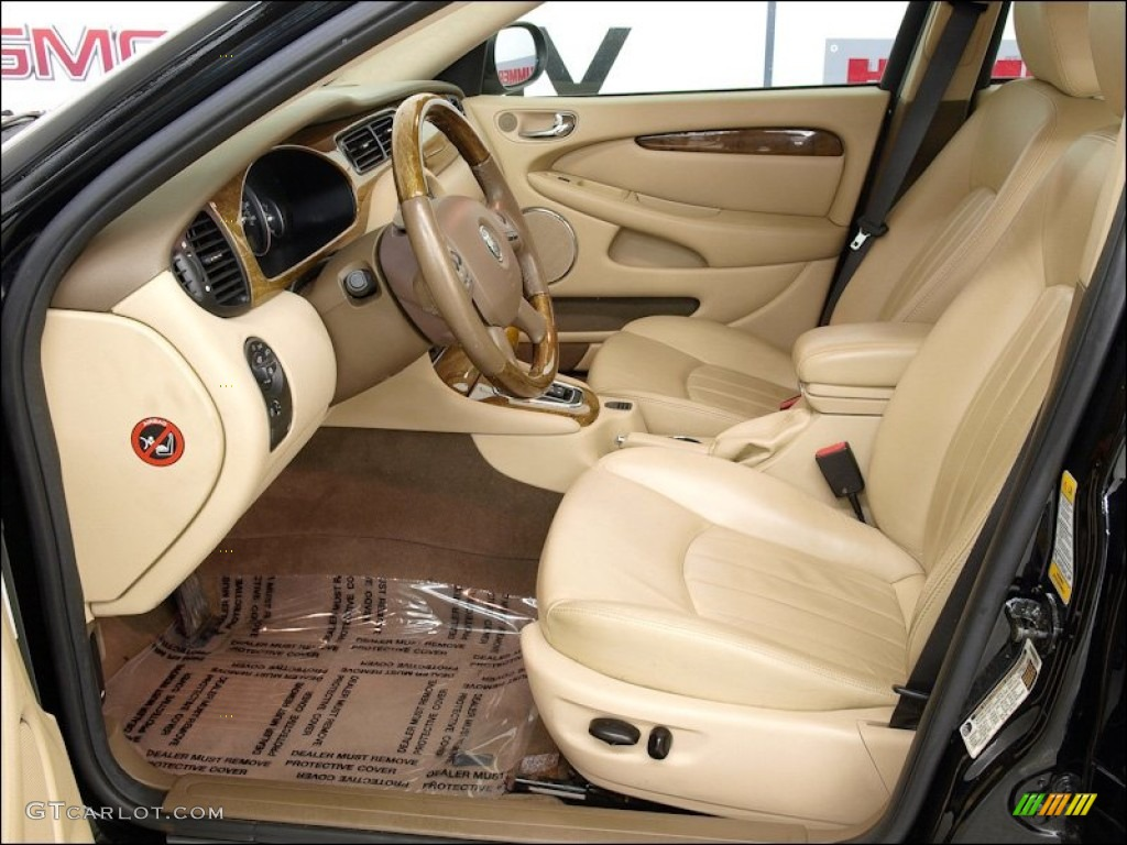 Champagne Interior 2005 Jaguar X Type 3 0 Photo 59791532