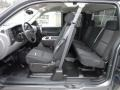 Dark Titanium Interior Photo for 2011 Chevrolet Silverado 1500 #59798638