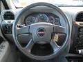 2007 GMC Envoy Light Gray Interior Steering Wheel Photo