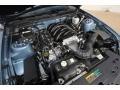 2007 Windveil Blue Metallic Ford Mustang GT Premium Coupe  photo #25