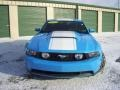 2011 Grabber Blue Ford Mustang GT Premium Coupe  photo #3