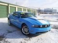 2011 Grabber Blue Ford Mustang GT Premium Coupe  photo #4