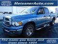 2002 Atlantic Blue Pearl Dodge Ram 1500 SLT Quad Cab  photo #1