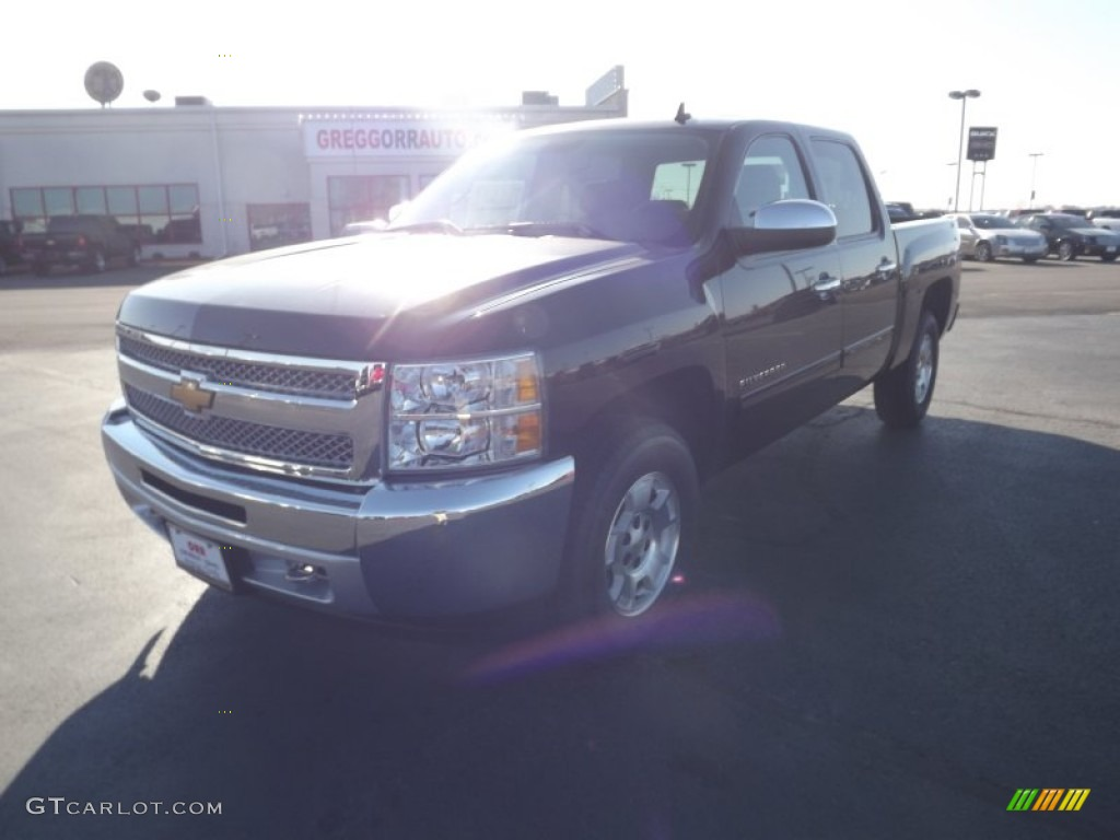 2012 Silverado 1500 LT Crew Cab 4x4 - Black / Ebony photo #1