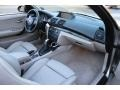 2009 BMW 1 Series Taupe Interior Dashboard Photo